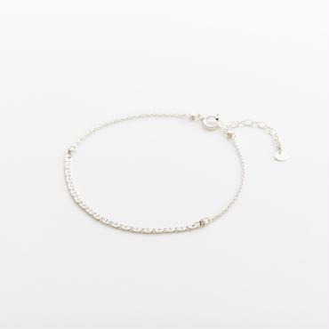 snake chain bracelet 13B101 / silver