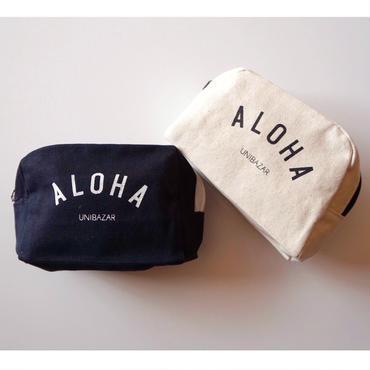 ハワイ UNIBAZAR/ユニバザー ALOHA/アロハ  ポーチ