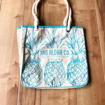 Tag Aloha パイナップルトートバッグ/エコバッグ