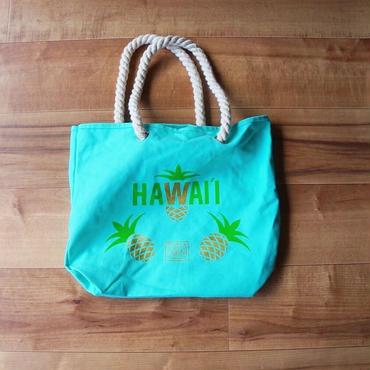 ハワイ ホールフーズマーケット/Whole Foods Market × Puna noni パイナップル  トートバッグ/エコバッグ
