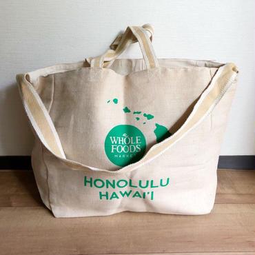 ハワイ ホールフーズマーケット/Whole Foods Market  ショルダー トートバッグ/エコバッグ