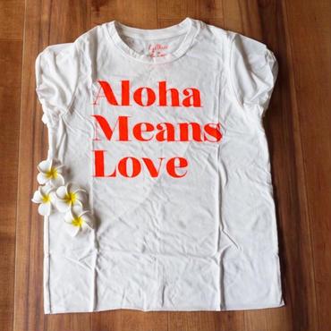 Gillia/ジリア Aloha means Love 限定カラー Tシャツ