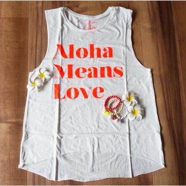 Gillia/ジリア Aloha means Love 限定カラー タンクトップ