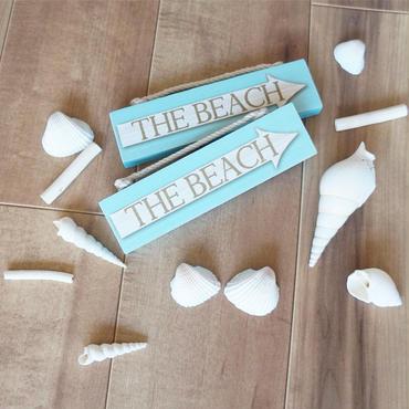 ハワイ SOHA LIVING サインボード THE BEACH