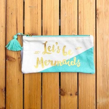 Let's be Mermaids ペンケース/ポーチ
