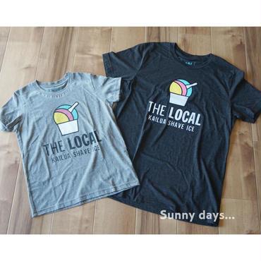 THE LOCAL HAWAII Tシャツ メンズ チャコールグレー