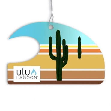 ulu LAGOON ミニ ウェーブ エアフレッシュナー Desert サボテン