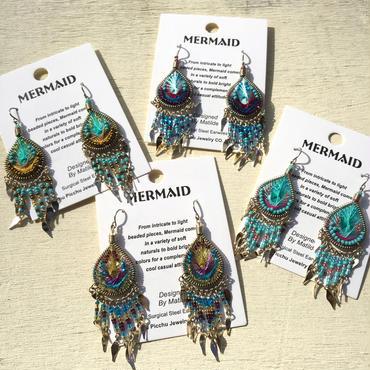 Machu picchu Jewelry MERMAID Dangle S