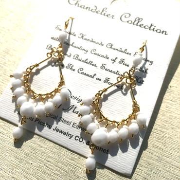 Machu picchu Jewelry Chandelier White