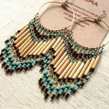 Machu picchu Jewelry LUMA Black L