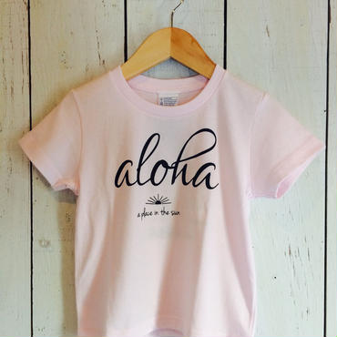 【SUNSURF】     aloha Tee (kids)     100cm.120cm        2color