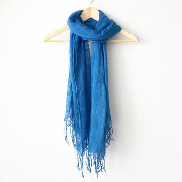 indigo-dyed stole / 03-7310002