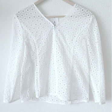 allover eyelet jacket / 03-5304001