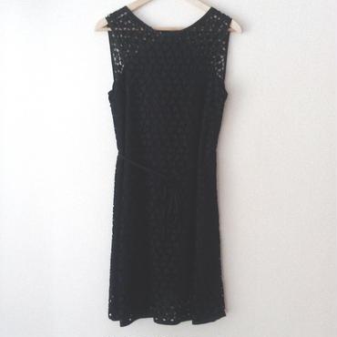 allover eyelet dress / 03-5305001