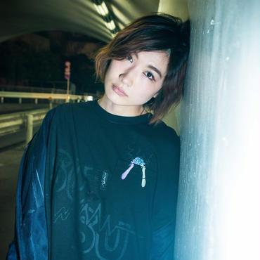 耳星人ポケットTシャツ / BLACK