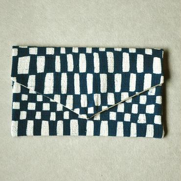 型染布ふくさ|変わり市松(単色)