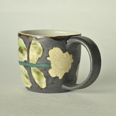 白菜から菜の花 マグカップ