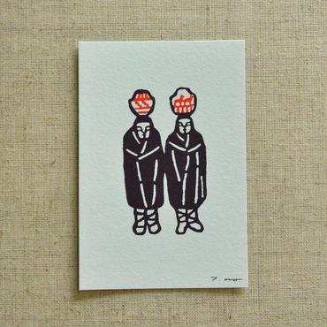ポストカード 双子