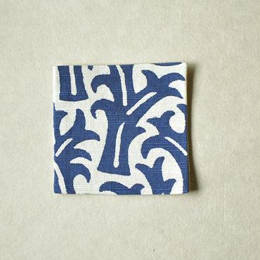 型染コースター|生い茂る(単色)