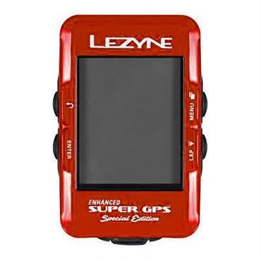 LEZYNE SUPER GPS スペシャルエディション レッド 日本語対応モデル