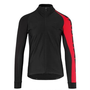 ASSOS  mille intermediate Jacket_evo7    RED    Sサイズ 春・秋のtiburレンジの人気ロングスリーブジャージ
