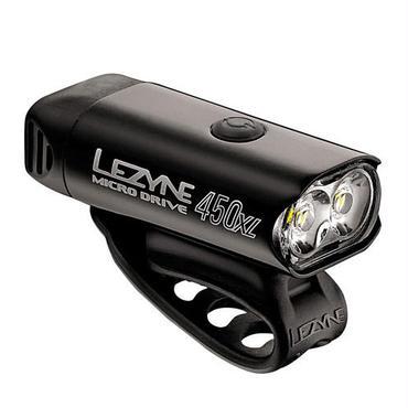 LEZYNE MICRO DRIVE 450XL ブラック MAX450LUMENS コンパクトSPORT LINE USB充電LEDライト