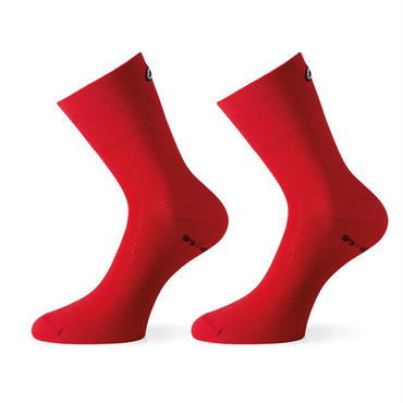 ASSOS  ASSOSOIRES  GT SOCKS  カラー:NATIONAL RED