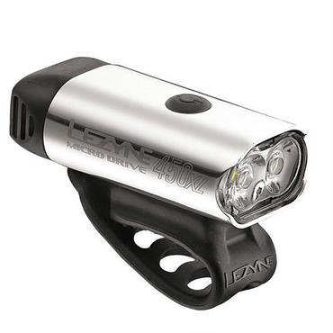 LEZYNE MICRO DRIVE 450XL ポリッシュ MAX450LUMENS コンパクトSPORT LINE USB充電LEDライト