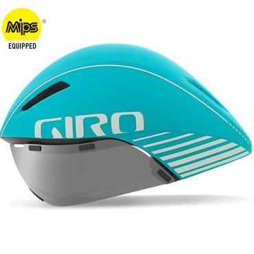 【予約注文・入荷次第発送】GIRO AEROHEAD MIPS Matte Glacier  クールなままで時間に挑む トライアスロンやロングTT向けモデル