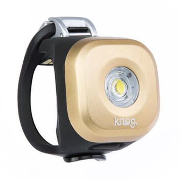 Knog  Blinder MINI DOT FRONT BRASS 3つの照射角度に合わせて選べるコンパクト LEDライト