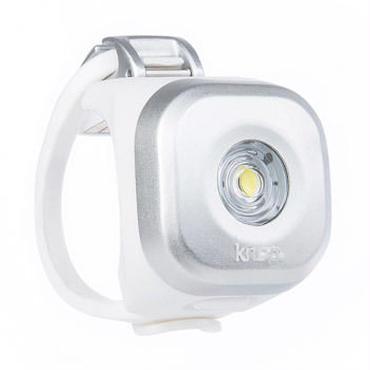 Knog  Blinder MINI DOT FRONT SILVER 3つの照射角度に合わせて選べるコンパクト LEDライト