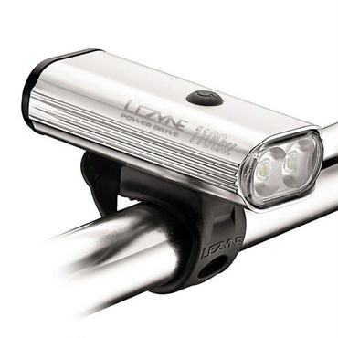 LEZYNE SUPER DRIVE 1100XL ポリッシュ MAX1100LUMEN 大光量なツインLEDUSB充電ライト