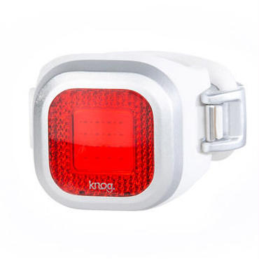 Knog Blinder MINI CHIPPY REAR SILVER 3つの照射角度に合わせて選べるコンパクト LEDライト