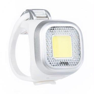 Knog Blinder MINI CHIPPY FRONT SILVER 3つの照射角度に合わせて選べるコンパクト LEDライト