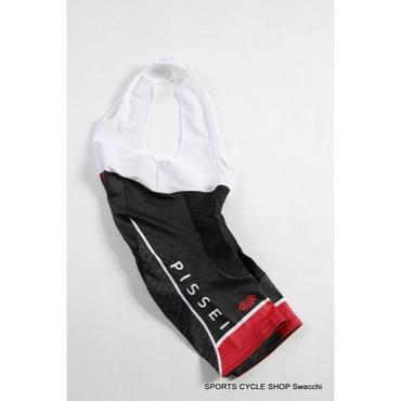【Swacchi × PISSEI】コラボ サイクルウエア Bib Shorts BLACK