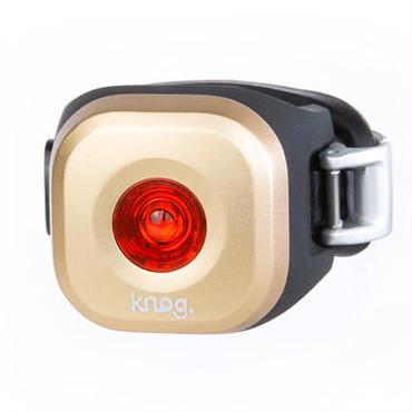 Knog  Blinder MINI DOT REAR BRASS 3つの照射角度に合わせて選べるコンパクト LEDライト