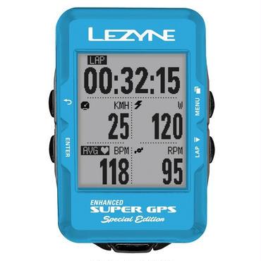 LEZYNE SUPER GPS スペシャルエディション ブルー 日本語対応モデル