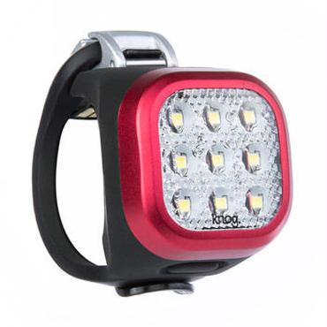 Knog Blinder MINI NINER FRONT RED 3つの照射角度に合わせて選べるコンパクト LEDライト