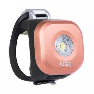 Knog  Blinder MINI DOT FRONT COPPER 3つの照射角度に合わせて選べるコンパクト LEDライト