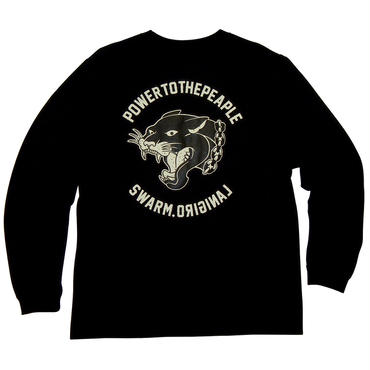 BLACK PANTHER L/S Tee(BK)