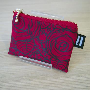 "KW's ""ROSE"" Coin case / Red"