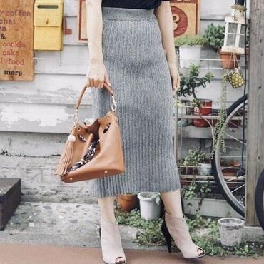 3wayニットロングスカート/3colors