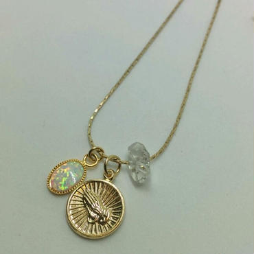 necklace「LAURA」