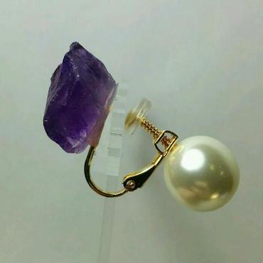earrings「ROCK&PEARI」