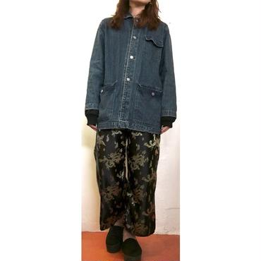 龍×鳳凰 CHINA PANTS bk