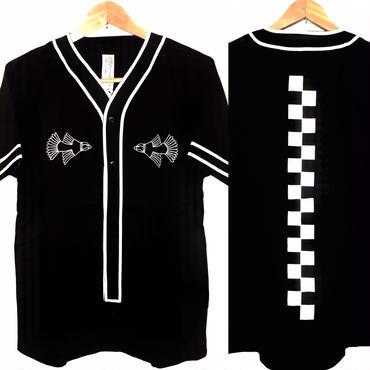 SSD ベースボールシャツ/black
