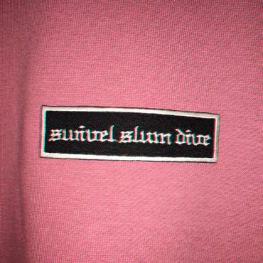 swivelslumdive logo sweat/pink
