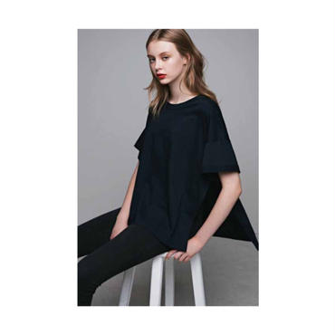 T-ree SLIT T SHIRT(Navy)