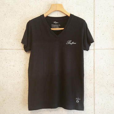 【BUFFONE】No.9 Black T-Shirt