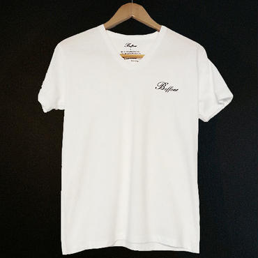 【BUFFONE】No.4 White T-Shirt
